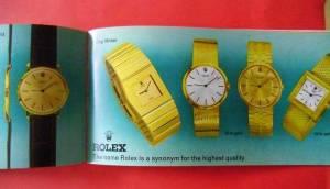 Rolex in oro